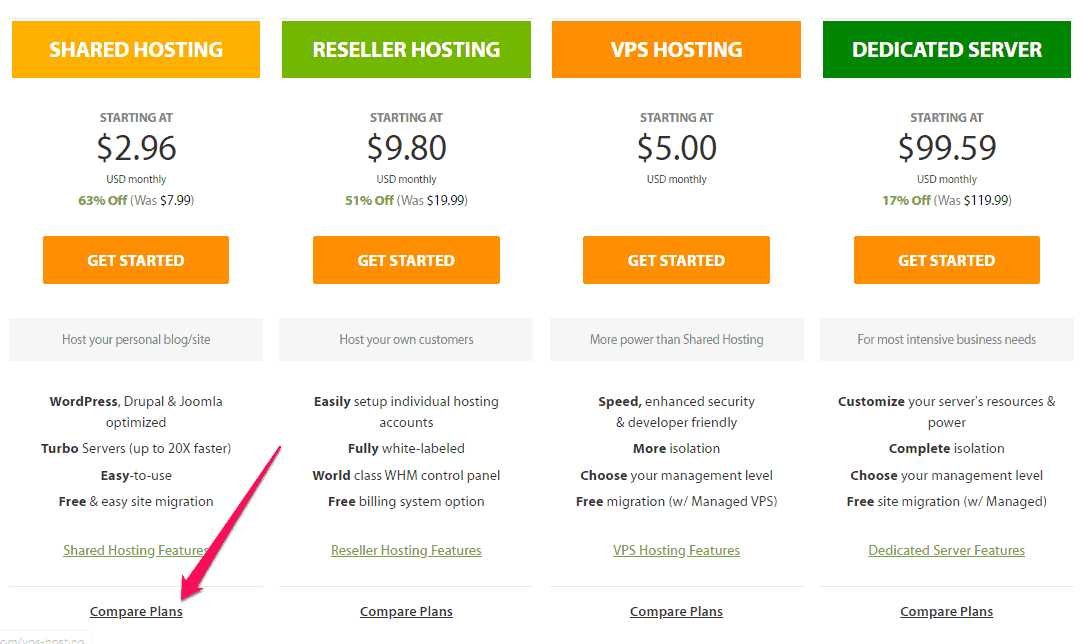 how to buy web hosting
